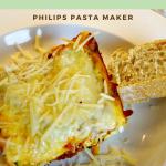 Half Healthy Lasagna