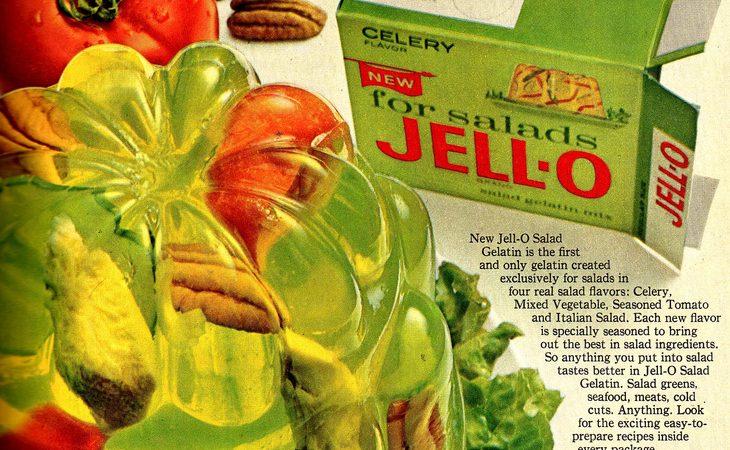 On savory jello dishes…