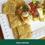 King Arthur Sourdough Crackers