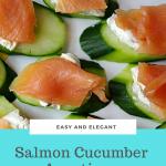 Salmon Cucumber Appetizers