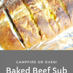 Baked Beef Sub