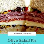 Olive Salad for Muffuletta