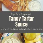 Big Boy Copycat Tangy Tartar Sauce