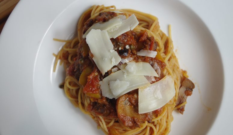 Pasta Puttanesca in the Instant Pot