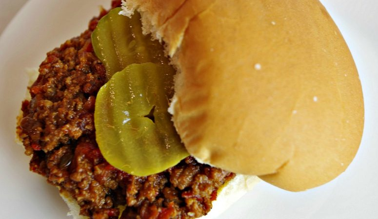 Sloppy Joes (without ketchup!)