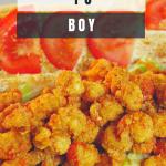 Crawfish Po Boy