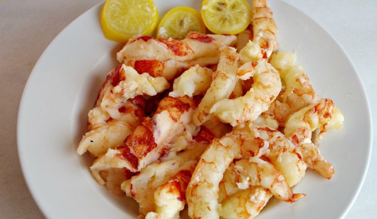 Sous Vide Lobster & Shrimp