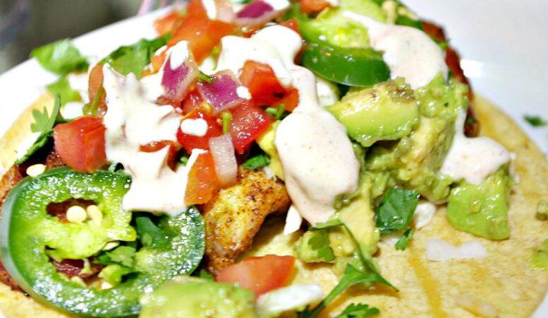 Fish Tacos and Spanish Rice