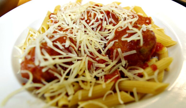 Meatballs With Red Sauce