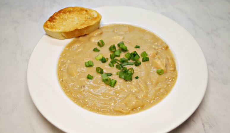 Healthier Instant Pot Cream of Chicken Soup