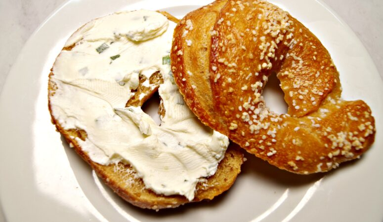 Sourdough Onion Bagels