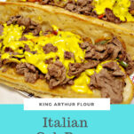 Philly Cheesesteaks With Homemade Cheez Whiz