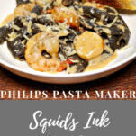 Squid's Ink Pasta
