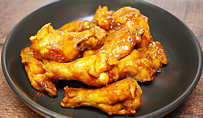 Instant Pot Air Fryer Sweet Jerk Chicken Wings