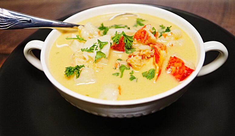 Seafood Fondue Soup