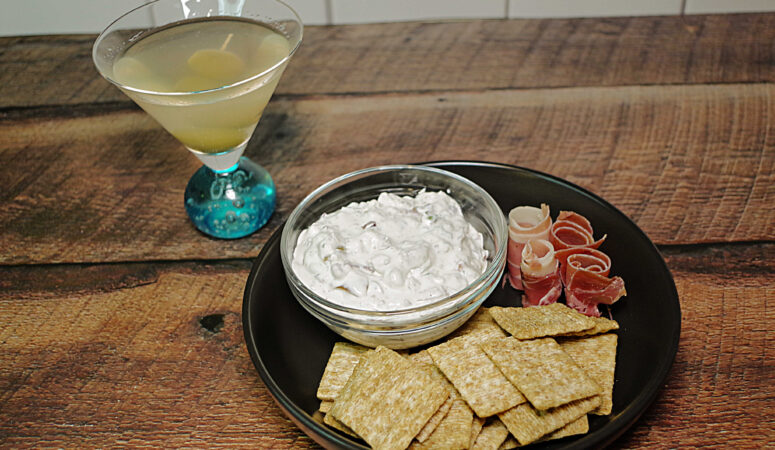 Dirty Blue Martini Dip