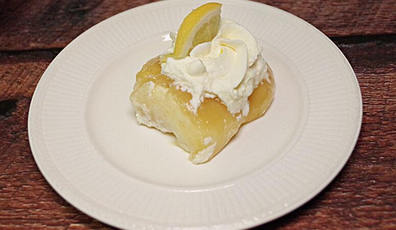 Lemon Lime Ooey Gooey Cake