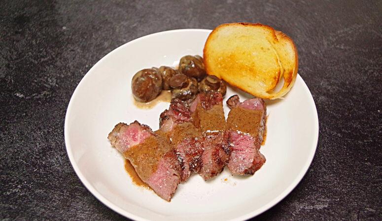 Sous Vide Steak Diane